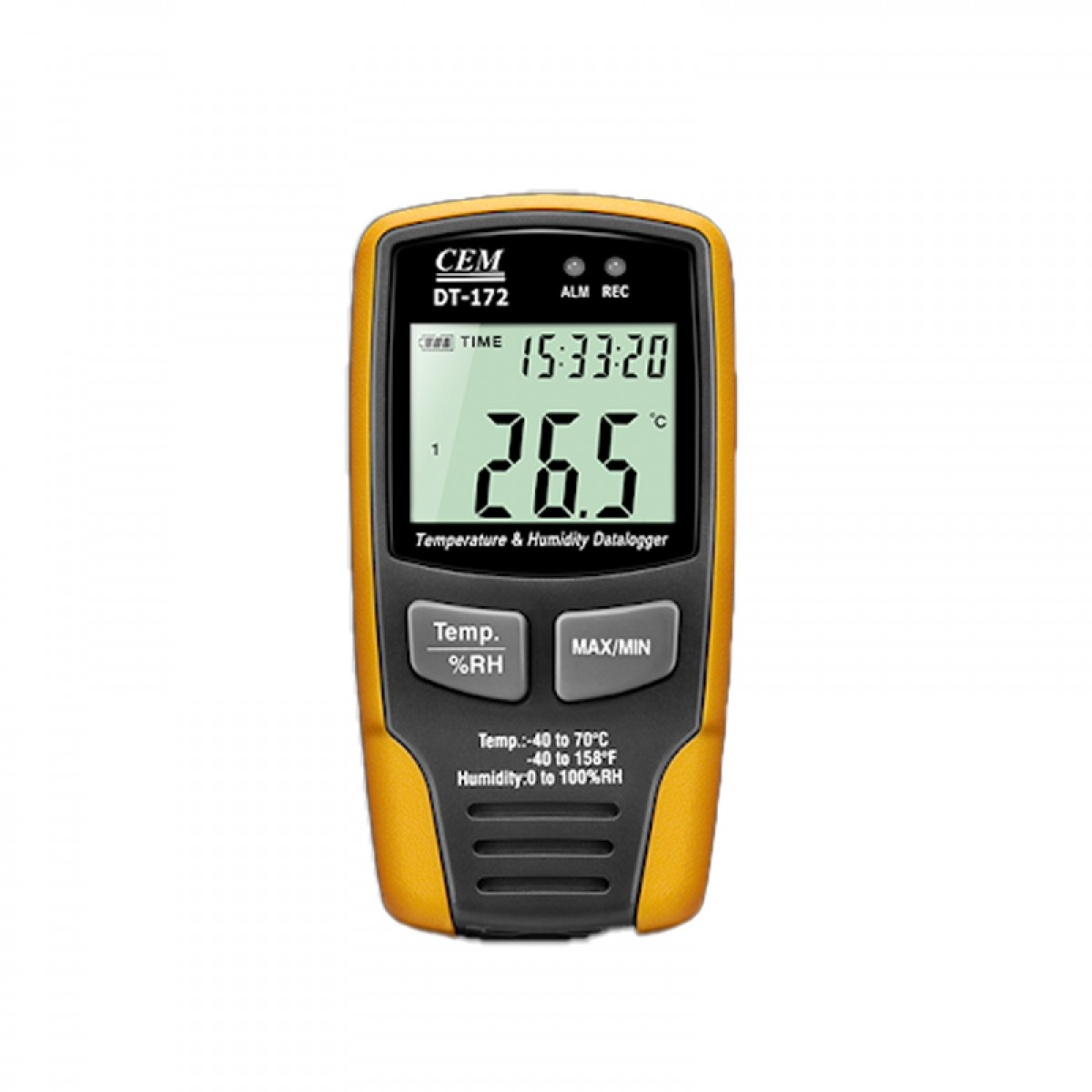 CEM Temperature and Humidity Datalogger DT-172