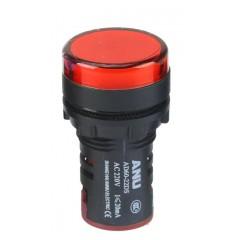 ANU LED Indicator Light AD60-22DS - Red Color 220V