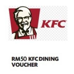 RM50 KFC DINING VOUCHER