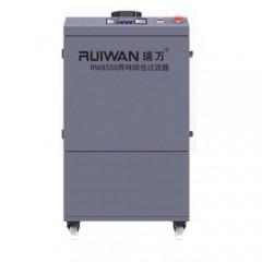 RUIWAN Integrated Smoke and Odor Filter RW8500
