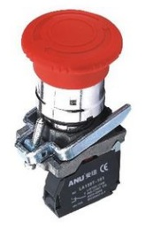 ANU One Position Emergency Stop Switch 40mm LA139A-BS542
